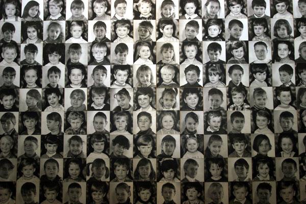 strahlengeschädigte Kinder, weil ihre Mütter zum Zeitpunkt der Katastrophe mit ihnen schwanger waren Quelle: Tschernobyl - Museum Kiew