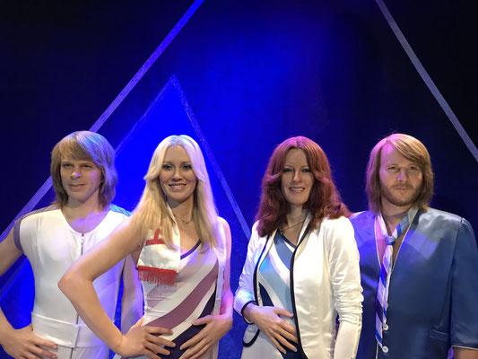 Wer kennt sie nicht, die berühmteste schwedische Popgruppe aller Zeiten. In Stockholm kann man ihr Lebenswerk in einem Museum nachempfinden.