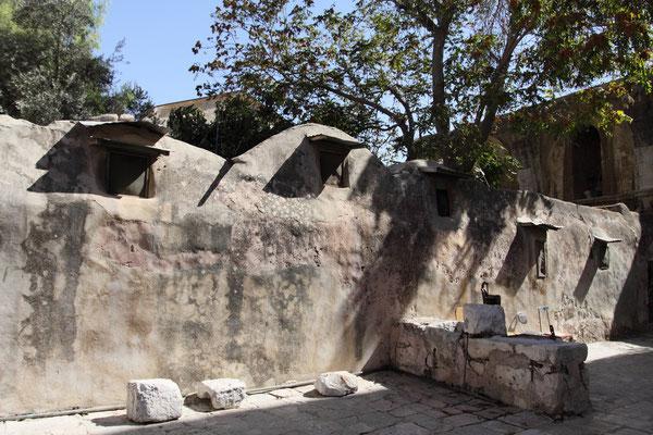 Äthiopisches Kloster an der Grabeskirche