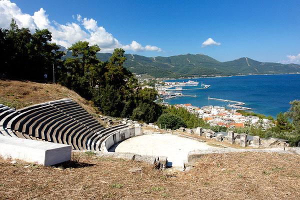 Antikes Theater aus dem 1. Jhdt. v. Chr., welches ursprünglich für Gladiatorenkämpfe genutzt wurde