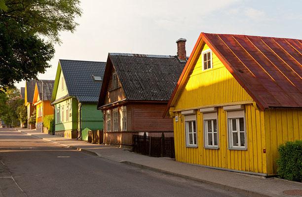 Keine andere Altstadt im Baltikum wirkt so deutsch wie die von Klaipeda mit vielen Fachwerkhäusern und gradlinigen Straßen