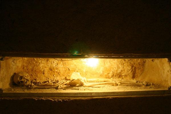 Frühchristliche Katakomben mit über 15.000 Grabstätten