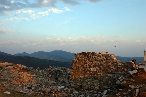 Die ersten Befestigungen hier wurden bereits im Jahre 1403 errichtet