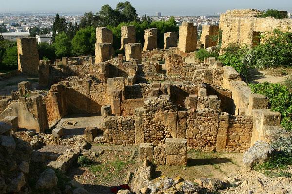 Karthago: der Byrsahügel war das Herz der punischen Stadt