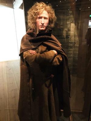 Innerhalb der Festung findet man das  Hallands Kulturhistorische Museum. Das bedeutenste Exponat des Museums ist eine Moorleiche aus dem 14. Jahrhundert, der Bocksten-Mann. Hier nach Gesichtsrekonstruktion.