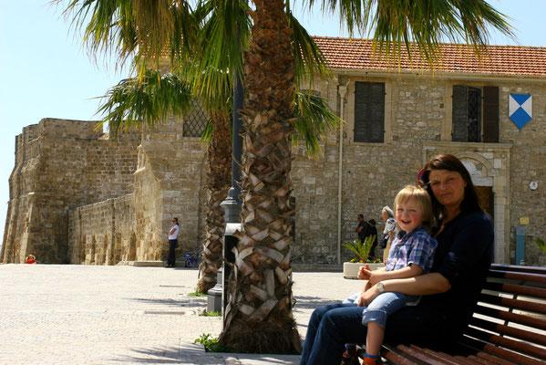 Die kleine Festung am Ende der Promenade entstand 1625.