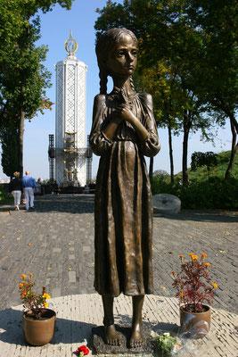 Holodomor, Gedenkstätte zur Erinnerung an die Hungertoten, die die Ukraine 1932/33 zu beklagen hatte.