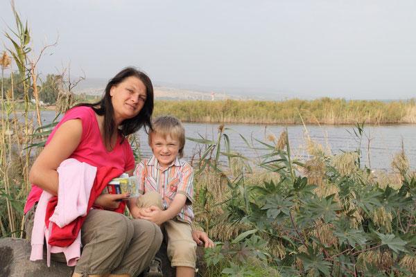 Tiberias am See Genezareth ist nicht wirklich interessant, eignet sich aber für Touren in die Umgebung