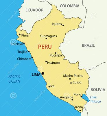 """Genau zwischen Peru und Bolivien gelegen heißt es in einem peruanischen Wortspiel """"Titi"""" gehört den Peruanern, während """"caca"""" Bolivien zugeordnet ist"""
