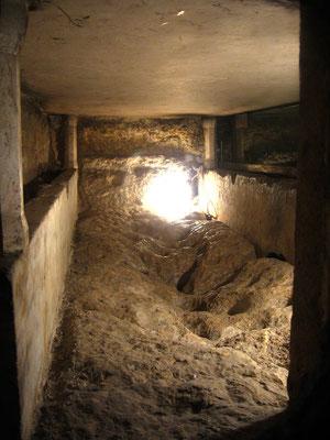 Das Grab, in dem Maria einige Tage bis zu ihrer Himmelfahrt gelegen haben soll