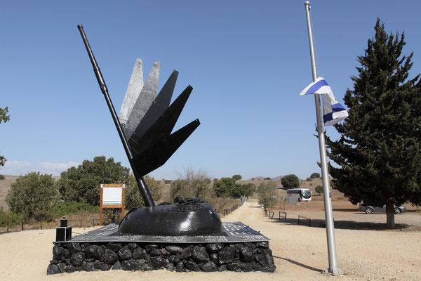 Denkmal der Helden einer Panzereinheit, die maßgeblich am Sieg beteiligt war