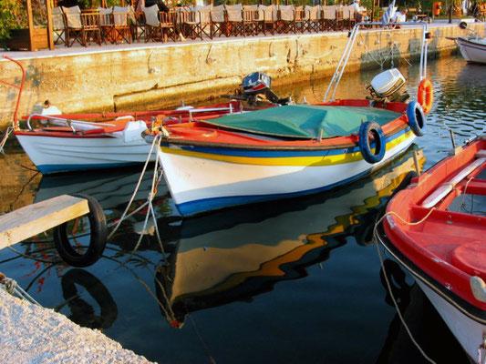 Typische Fischerboote