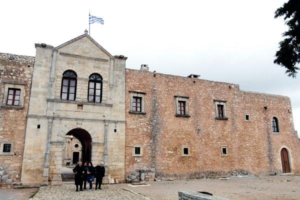 Kloster Moni Arkadi-es ist das mit Abstand bekannteste Kloster auf Kreta. Erstmals wurde das Kloster im 5. Jahrhundert nach Christus erbaut..
