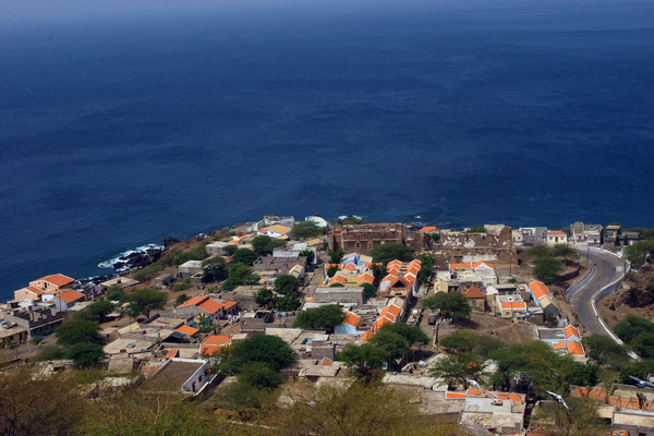 Blick auf Cidade Velha - ebenfalls UNESCO-Weltkulturerbe