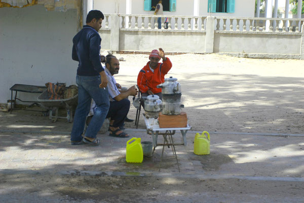 Teestuben entlang der Überlandstraßen