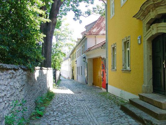 in der Weimarar Altstadt