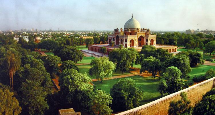 Es diente auch als Vorbild für das weltweit bekannte Taj Mahal.