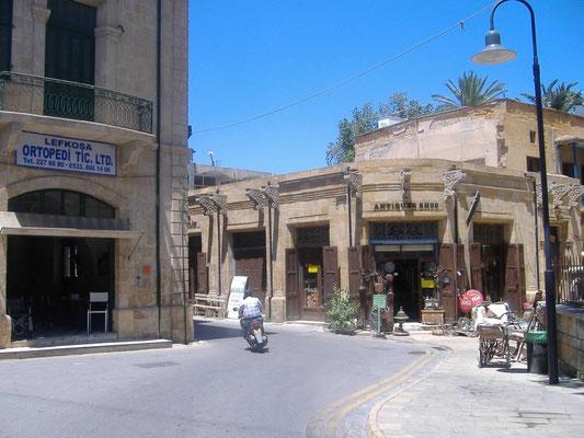 Altstadtstrasse Richtung Leda, der Haupteinkaufsstraße Nikosias