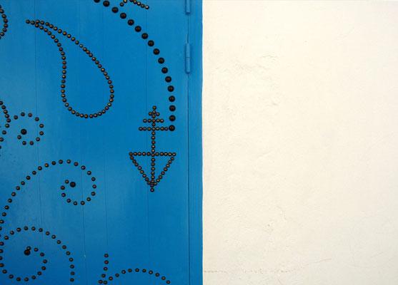 Die mit Eisennägeln geschmückten Portale der Häuser sind je nach Ausführung alleiniges Indiz für den Wohlstand des Besitzers.