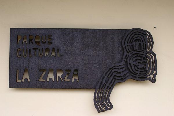 Archäologischer Park von La Zarza und La Zarcita.