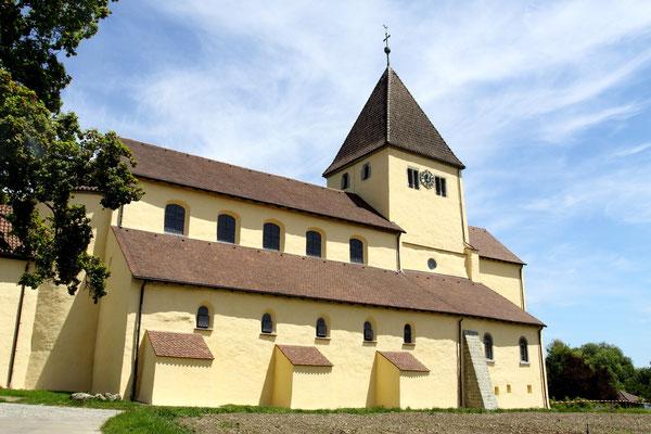 Die dritte Kirche St. Georg, erbaut im 9 Jhdt., besticht durch die monumentalen Wandmalereien der Wunder Christi.