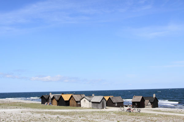 Helgumannen ist ein altes Fischerdorf auf Fårö. Es wird im kleinen Stil heute noch betrieben.