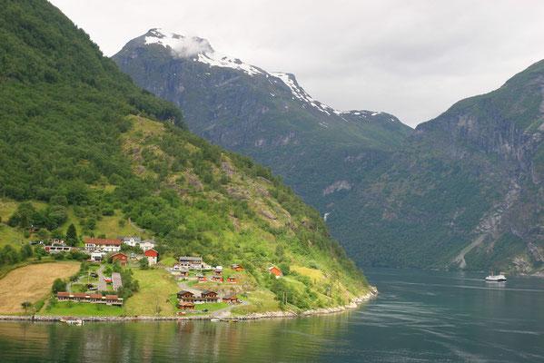 Der Geirangerfjord ist wohl das beliebteste Fotomotiv Westnorwegens