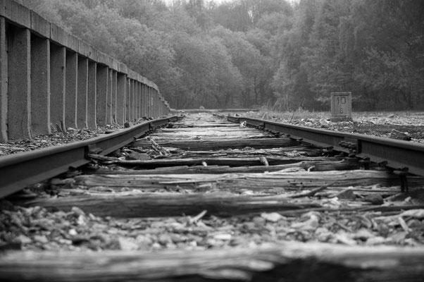 ehemaliger Bahnhof für die Sondertransporte