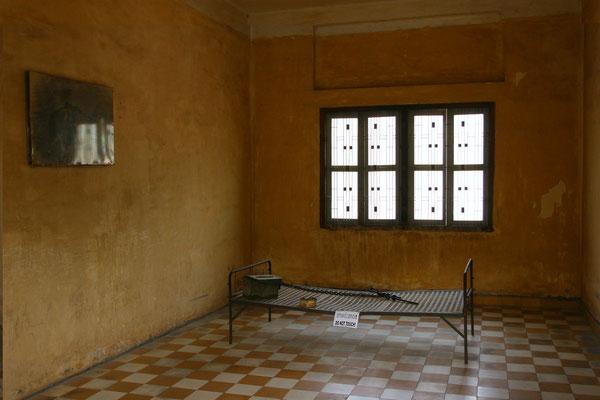 Früher einmal eine Schule wurde das Gebäude in ein Gefängnis des Staatssicherheitsdienstes umgewandelt