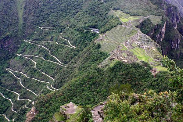 Mühsam ist der Weg bis zum Berg.