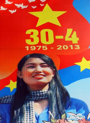 Alljährlich wird der Sieg der Kommunisten im Vietnamkrieg über die Amerikaner gefeiert.
