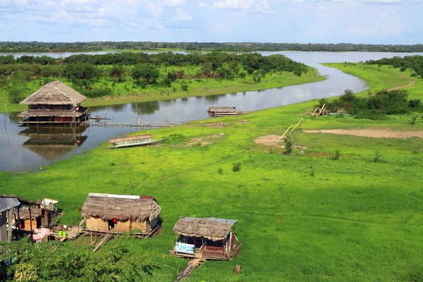 Landschaftlich ein Traum - am Amazonas zu sein, dem größten Fluss der Erde.