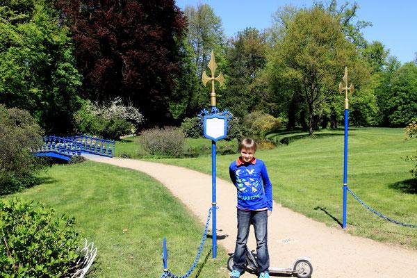 """Der """"blaue Park"""""""