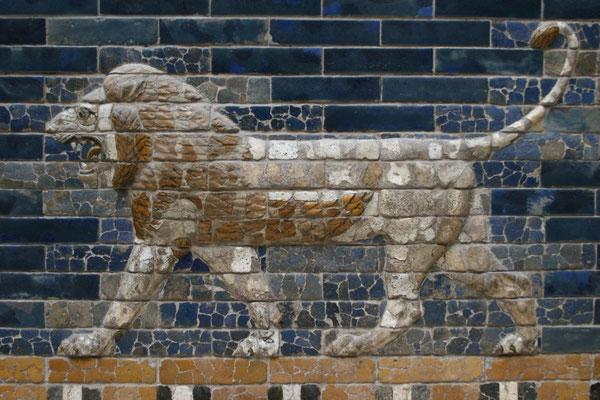 Ausschnitte der Prozessionsstraße im alten Babylon