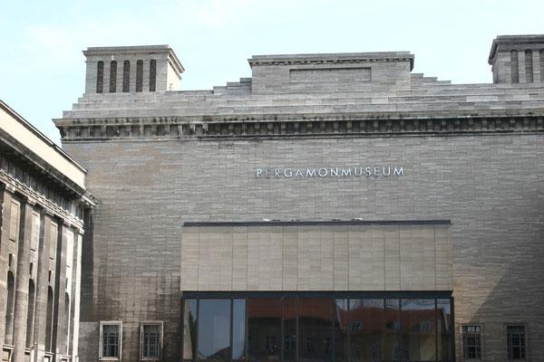 Das Pergamonmuseum beherbergt Teile der Antikensammlung, das Vorderasiatische Museum und das Museum für Islamische Kunst