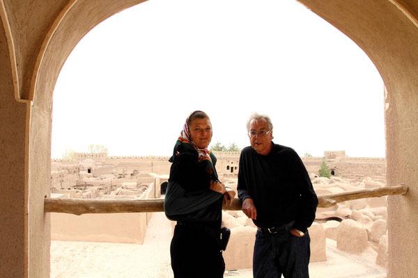 In der historischen Burg in Yadz