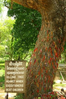 Dieser Baum wurde zum Töten von Kindern genutzt, in dem man sie einfach daran erschlug. Auch Babys wurden so getötet, weil man eine spätere Rache fürchtete.