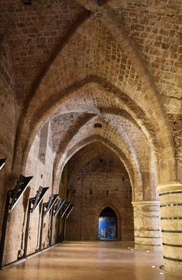Die Kreuzfahrer eroberten 1104 die Hafenstadt und machten sie zum wirtschaftlichen Zentrum