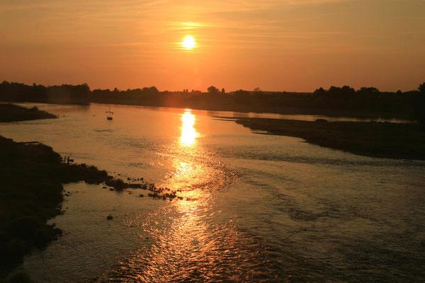 Abendstimmung an der Loire