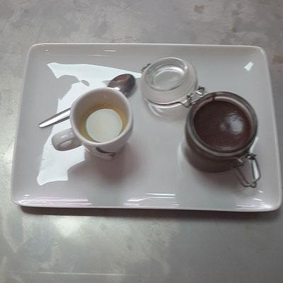 Dessert Café Mousse