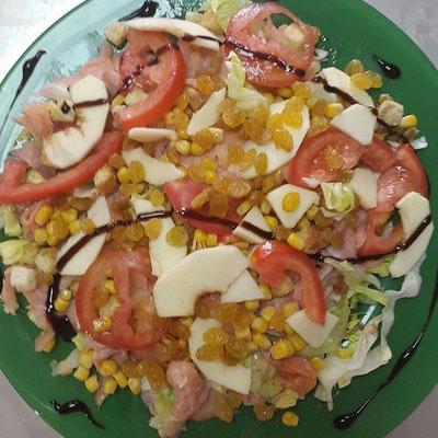 Salade La Saumon
