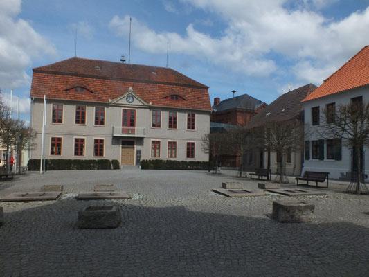 Rathaus auf Insel