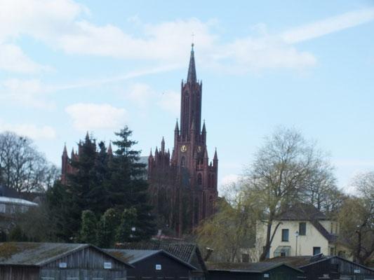 Klosterkirche, erbaut im 19. Jh.