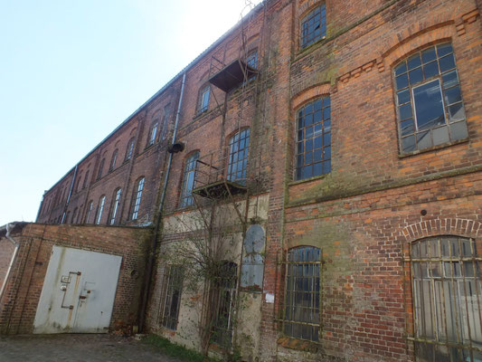 Verfallene Fabrik