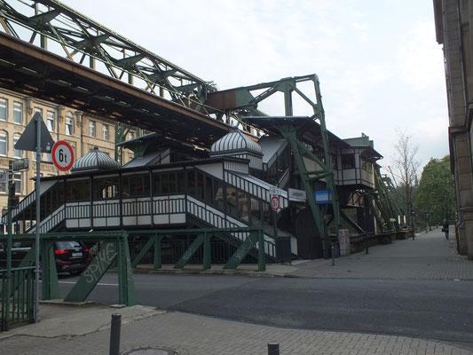 Schwebebahnstation