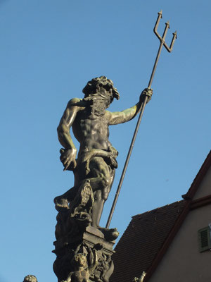 Neptunbrunnen (wegen seines Standortes auch Marktbrunnen genannt)
