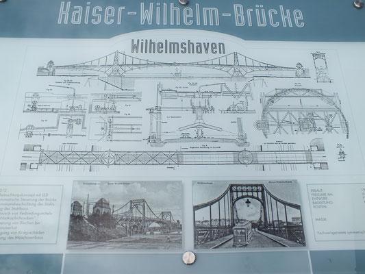 Kaiser-Wilhelm-Brücke (Beschreibung)