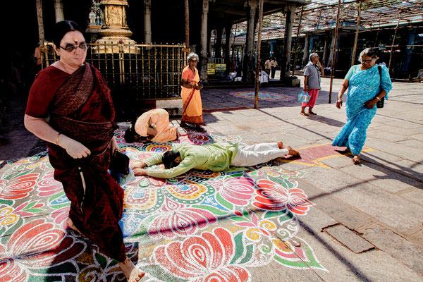 Madras Tempelszenerie