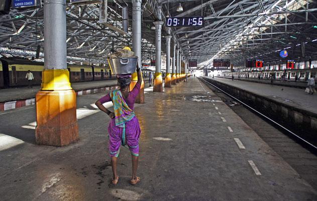 Bahnhof von Mumbai