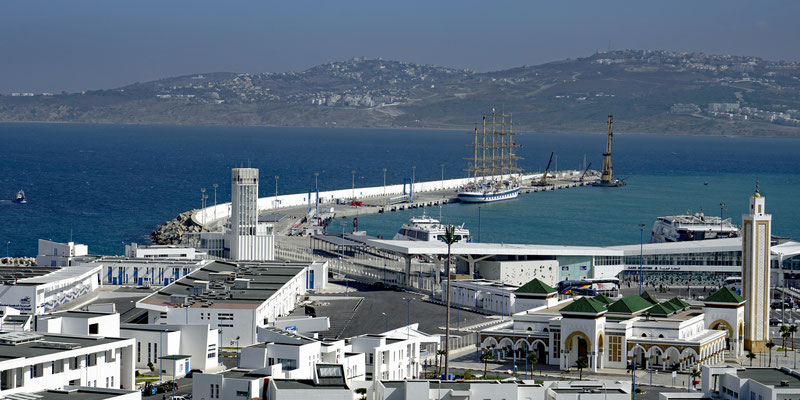 Der Hafen von Tanger